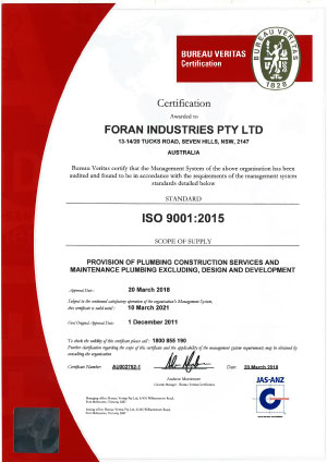 ACCREDITATIONS - image Foran-Industries-QMS-Certificate-AU002752-2021 on https://www.foranindustries.com.au